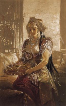 Zichy, Mihály - Oriental Beauty
