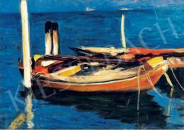Koszta József - Csónakok