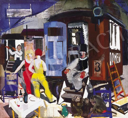 Aba-Novák, Vilmos - Acrobats at Rest, 1932 | 39th Auction auction / 193 Item