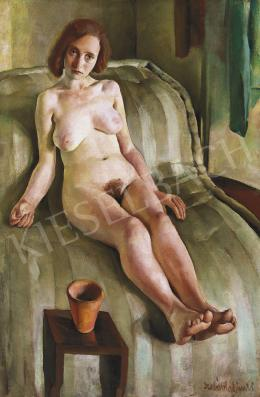 Szabó, Vladimir - Sitting Female Nude, early 1930's