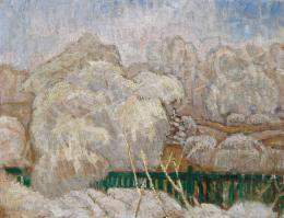 Iványi Grünwald Béla - Téli táj, 1910 körül