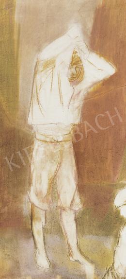 Bernáth Aurél - Öltözködő