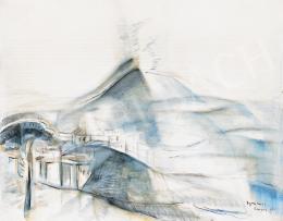 Egry József - Pompei (Vezúv)