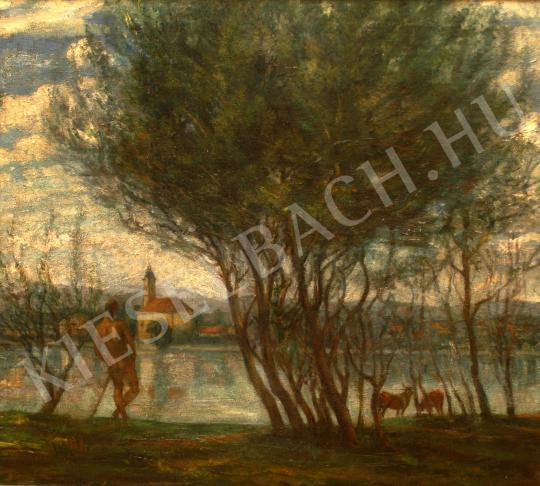 Kernstok Károly - Folyóparton   39. Aukció aukció / 234c tétel