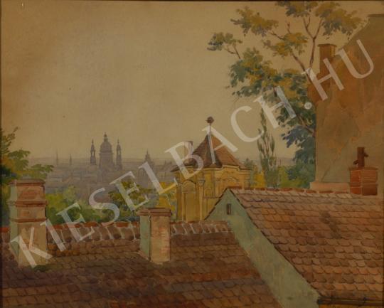Ismeretlen művész - Budapest festménye