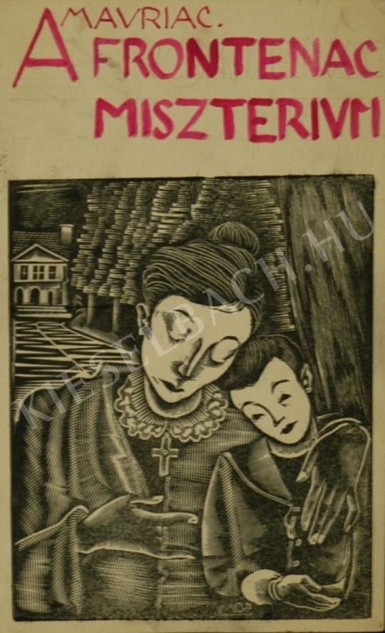 Molnár C. Pál - Mavriac: A Frontenac misztérium című könyv borítóterve festménye