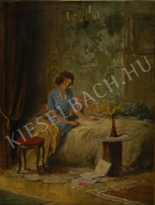 Komáromi-Kacz, Endre (Komáromi Katz Endre) - Passiance painting