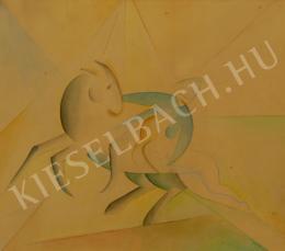 Dr. Ruttkay György - Art deco lovas (1923)