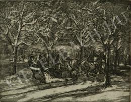 Kernstok, Károly - Horse Sleigh