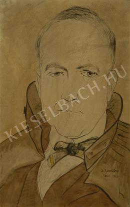 ifj. Kernstok Károly - Önarckép (1923)
