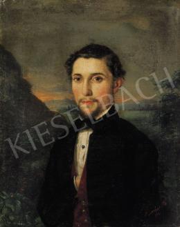Barabás Miklós - Fiatal férfi képmása