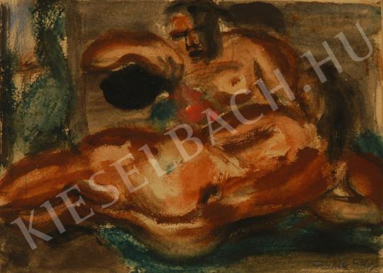 Frank Frigyes - Aktok festménye