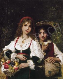 Bruck, Lajos - Fruit Sellers