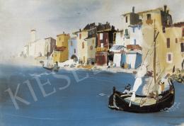 Vadász Endre - Itáliai kikötő