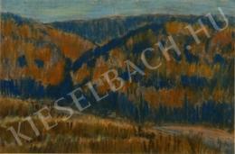 Nagy István - Őszi domboldal, 1930 körül