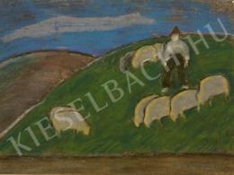 Nagy István - Legelő juhok, 1933 körül