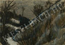 Nagy István - Havas domboldal, 1930 körül
