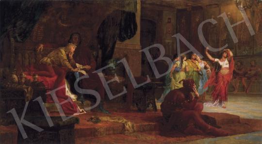 Székely, Bertalan - The Court of King László 5th   19th Auction auction / 168 Lot