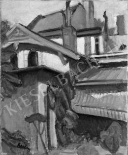 Berény Róbert - Városmajor utcai ház, 1906 (?)