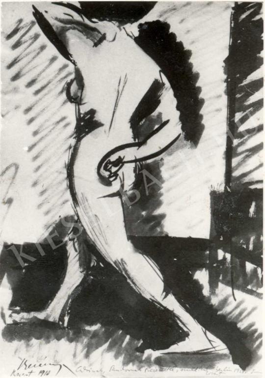 Berény Róbert - Akt tanulmány, 1910 festménye