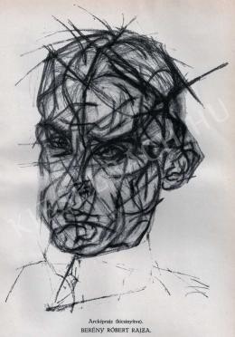 Berény Róbert - Antonio Torossi portréja, 1912 körül