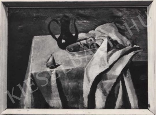 Berény Róbert - Nagy kékkancsós csendélet, 1911 festménye