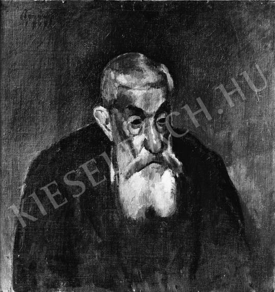 Berény Róbert - Arckép, 1909 festménye