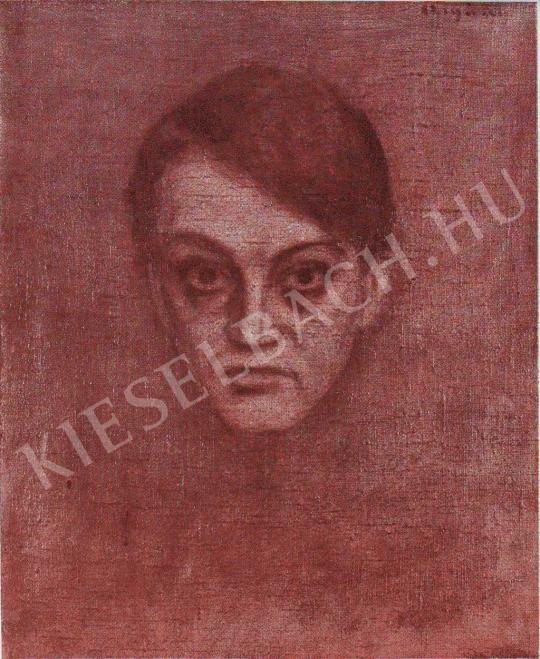 Czigány Dezső - Ady Endre képmása, 1907 festménye