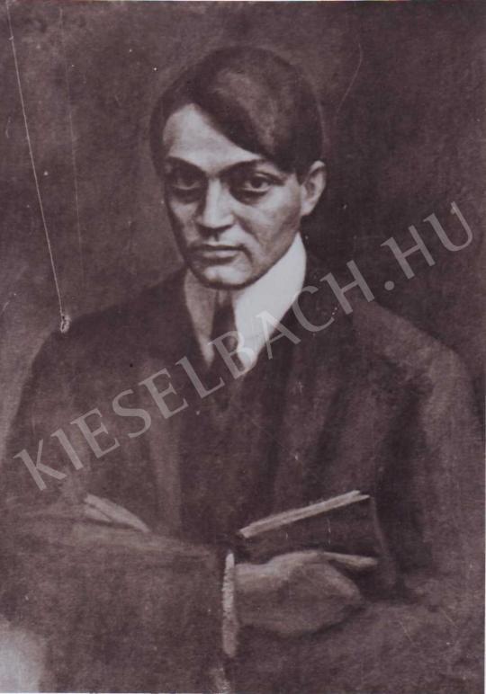 Czigány Dezső - Ady Endre képmása, 1908 festménye