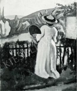 Czigány Dezső - A festőnő, 1909