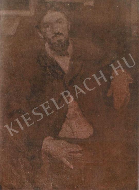 Czóbel Béla - Dobai Székely Andor portréja, 1905 festménye