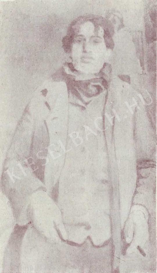 Czóbel Béla - Önarckép, 1905 -1906 körül festménye