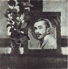 Jakobovits Artúr - Önarckép, 1910 körül