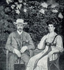 Kernstok Károly - Lederer Artúr és neje, 1908
