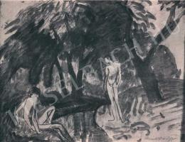 Kernstok Károly - Patak partján, 1910