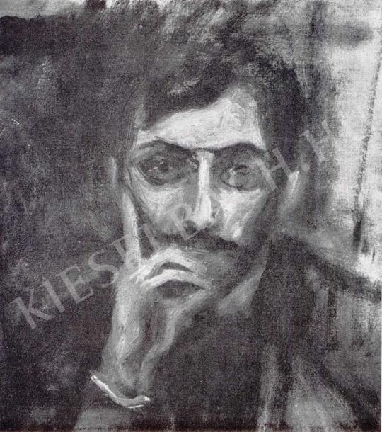 Kernstok Károly - Goda Géza portréja, 1908 festménye