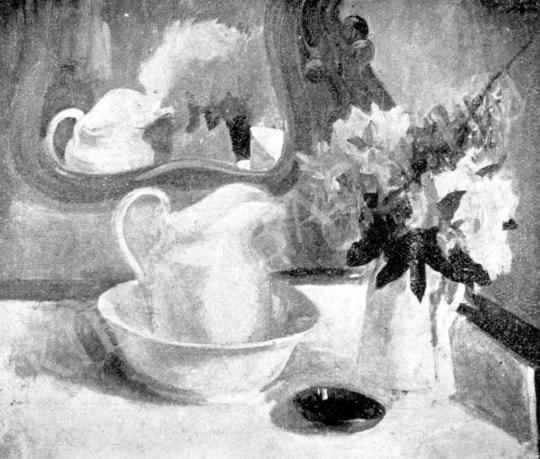 Márffy Ödön - Csendélet fehér kancsóval, 1907 elött festménye