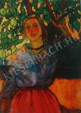 Márffy Ödön - Leány citromfa alatt, 1907