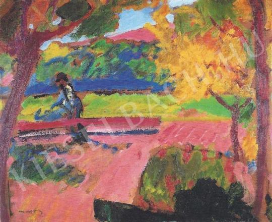 Márffy Ödön - Arató (Parkban, Tavasz), 1910 körül festménye