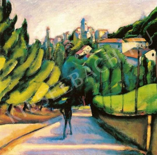 Márffy Ödön - Észak-olasz táj, 1910-es évek első fele festménye