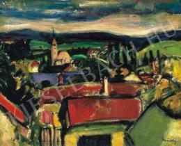 Márffy Ödön - Szentendrei táj, 1910 körül