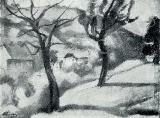 Márffy Ödön - Tájkép, 1909 festménye