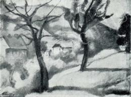 Márffy Ödön - Tájkép, 1909