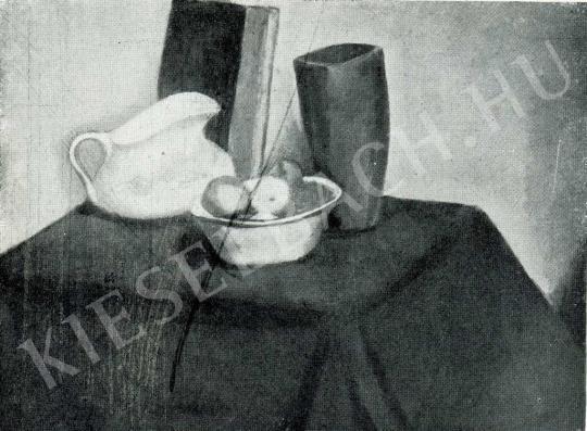 Orbán Dezső - Fehérkancsós csendélet, 1911 körül festménye