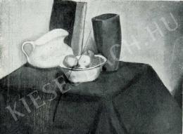 Orbán Dezső - Fehérkancsós csendélet, 1911 körül