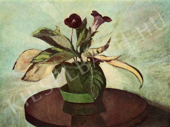 Orbán Dezső - Gloxinia, 1915 festménye