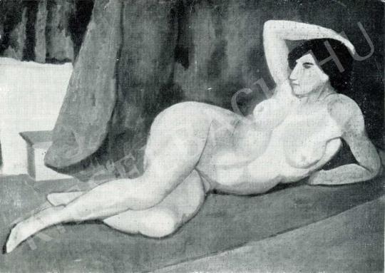 Orbán Dezső - Akt, 1911 festménye