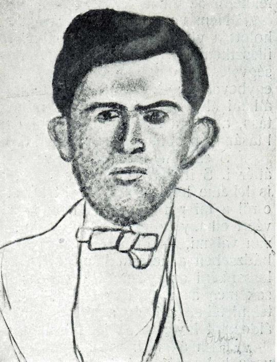 Orbán Dezső - Férfiportré, 1908 festménye
