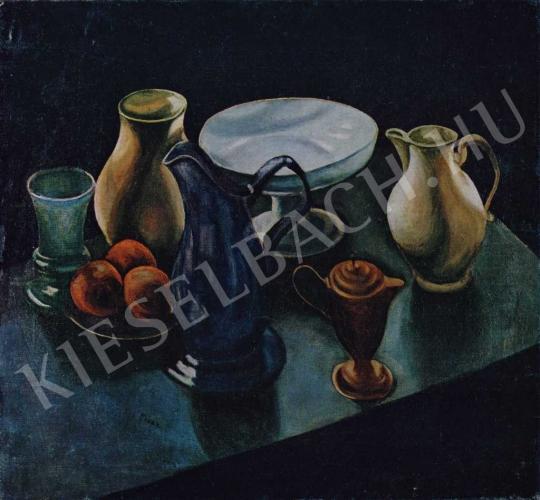 Orbán Dezső - Kékkancsós csendélet, 1910 körül (?) festménye
