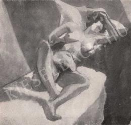 Tihanyi Lajos - Akttanulmány (1911 körül)